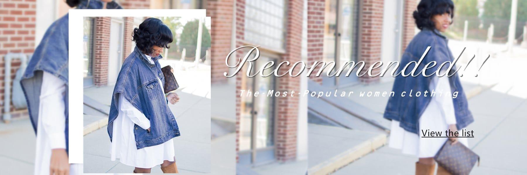 Wholesale Women Best-selling Styles