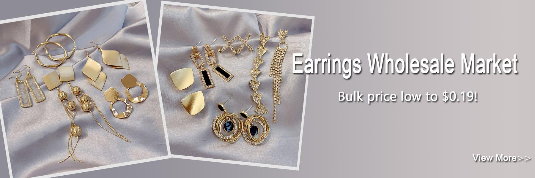 Earrings Wholesale Market