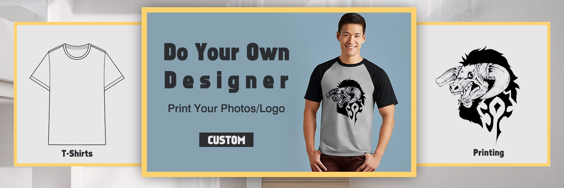 Custom Men T-shirts