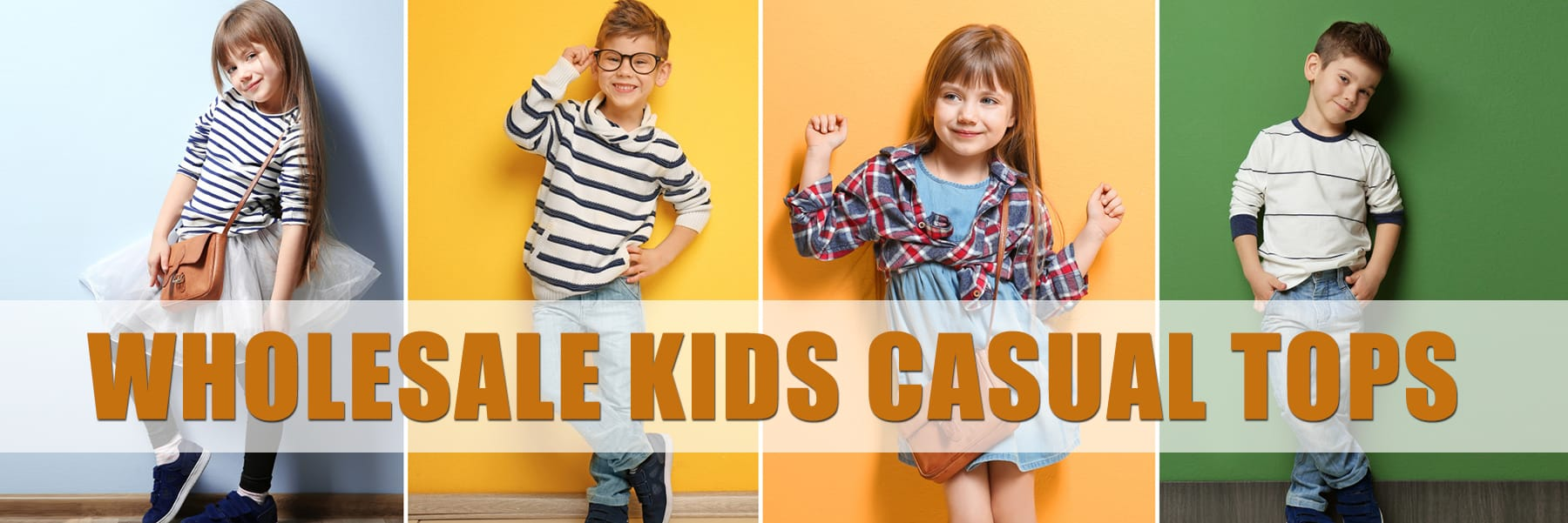 Wholesale Kids Casual Tops