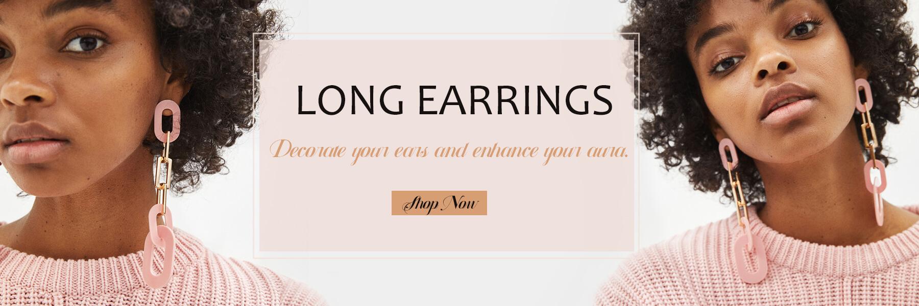 Wholesale Long Earrings