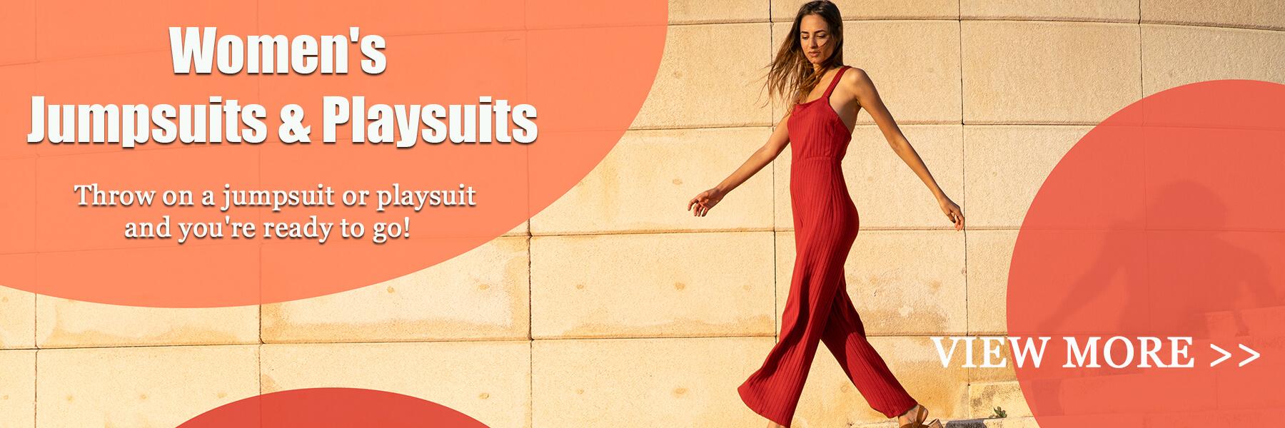 Women Jumpsuits&Rompers
