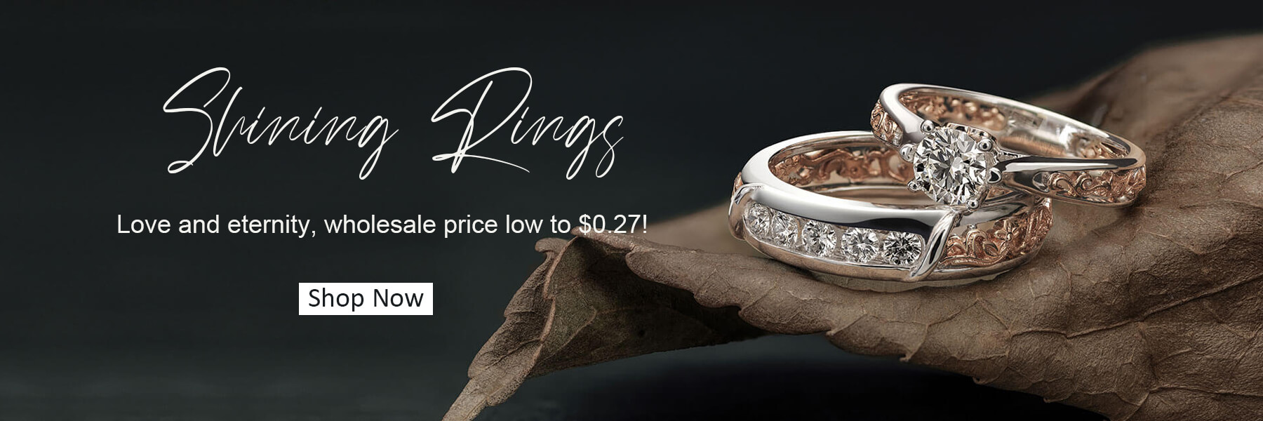 Wholesale Shining Rings