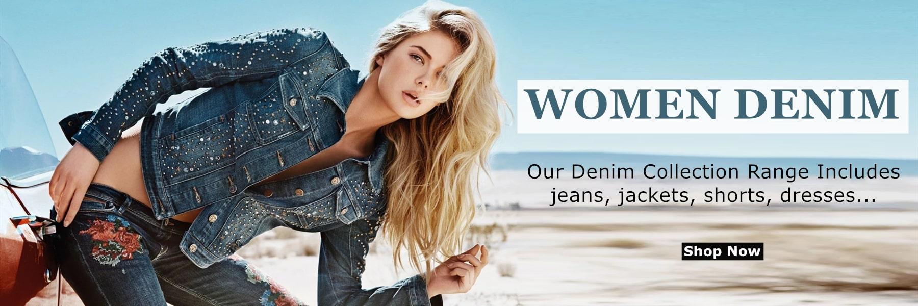 Wholesale Women Denim Clothing