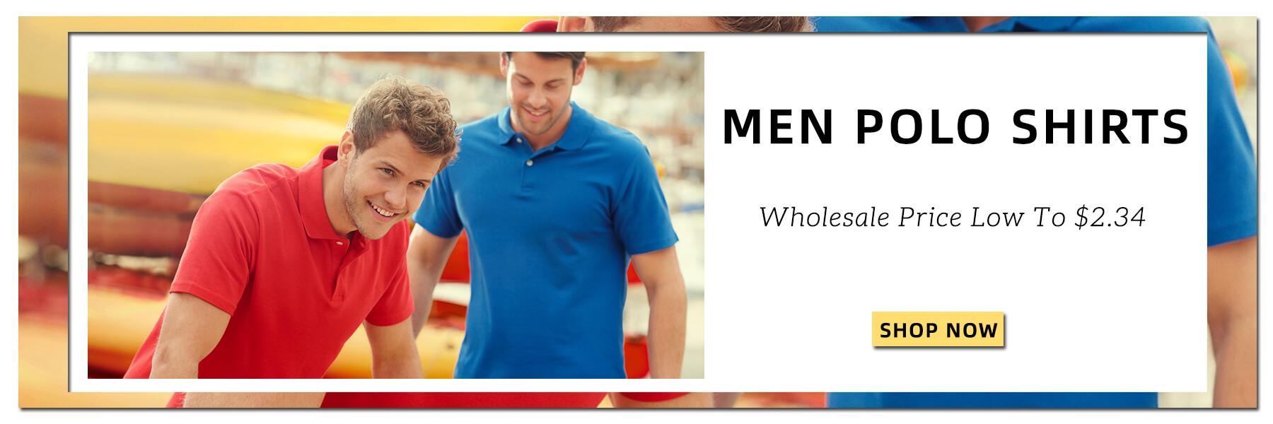 Wholesale Men Polo Shirts