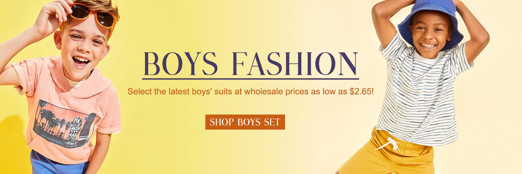 Wholesale Boys Set