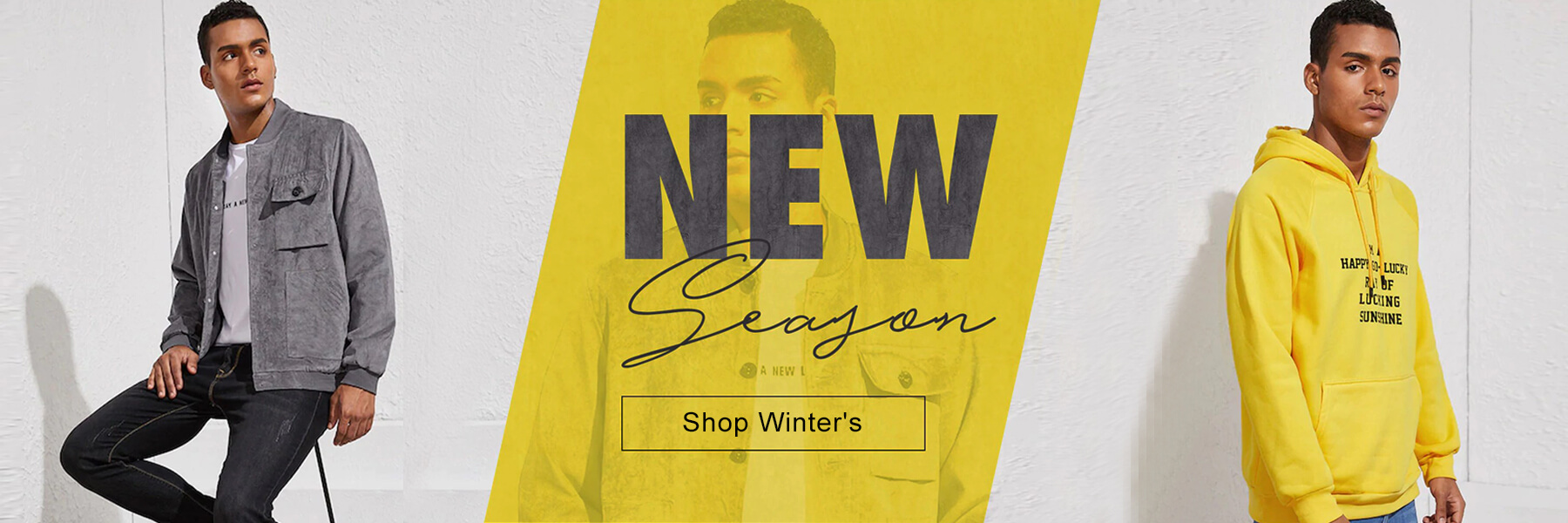 Wholesale Men Winter Edit