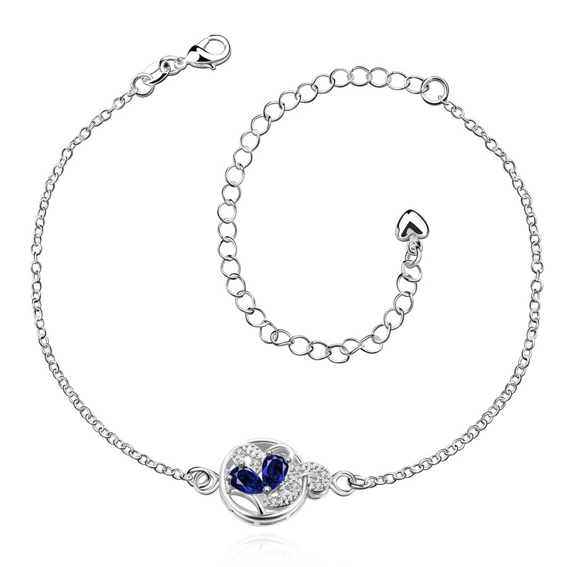 Romantic Women JEWELRY Water Drop Charm Online Anklet