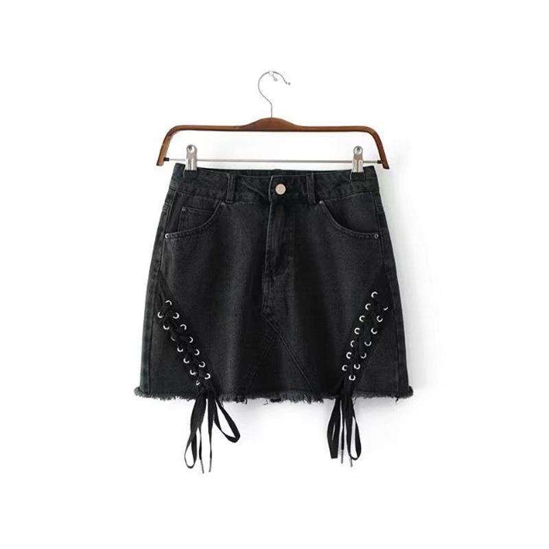 Women Summer Style Causal DENIM Pencil Skirt Size:M