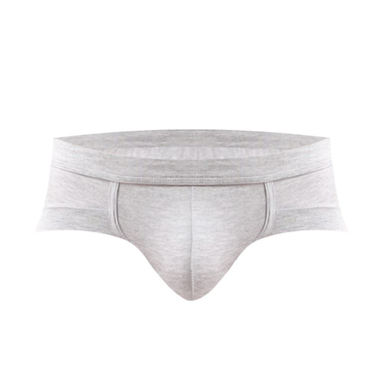 Men Sexy Low-Rise Convex Pouch Breathable Refreshing Modal BRIEFS