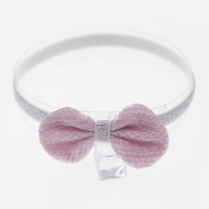 New Arrived Baby Girls HAIR ACCESSORIES Cute Printed Bowknot Thin Headbands