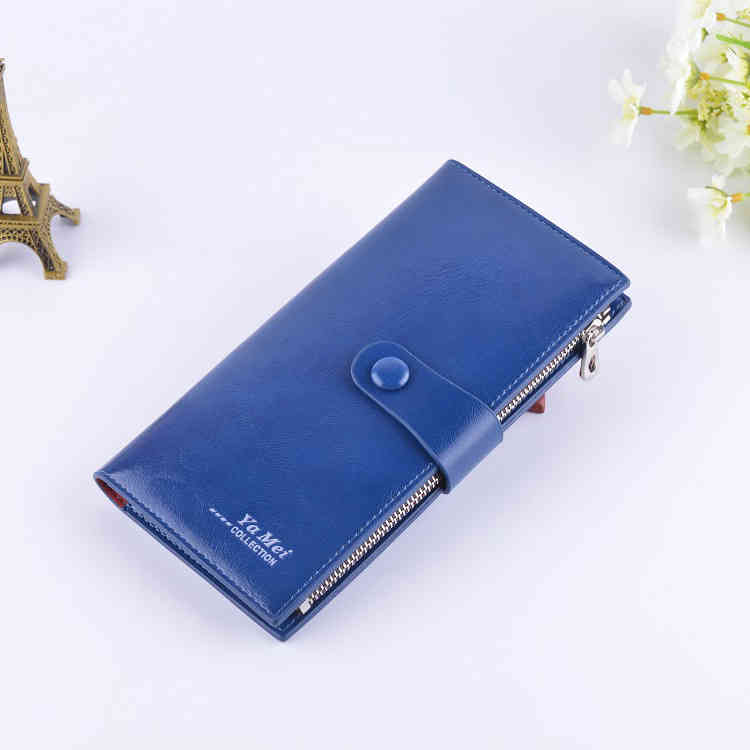 New Hot Sell Wax Paper Card Holder Ultra Thin Lovers Long WALLET