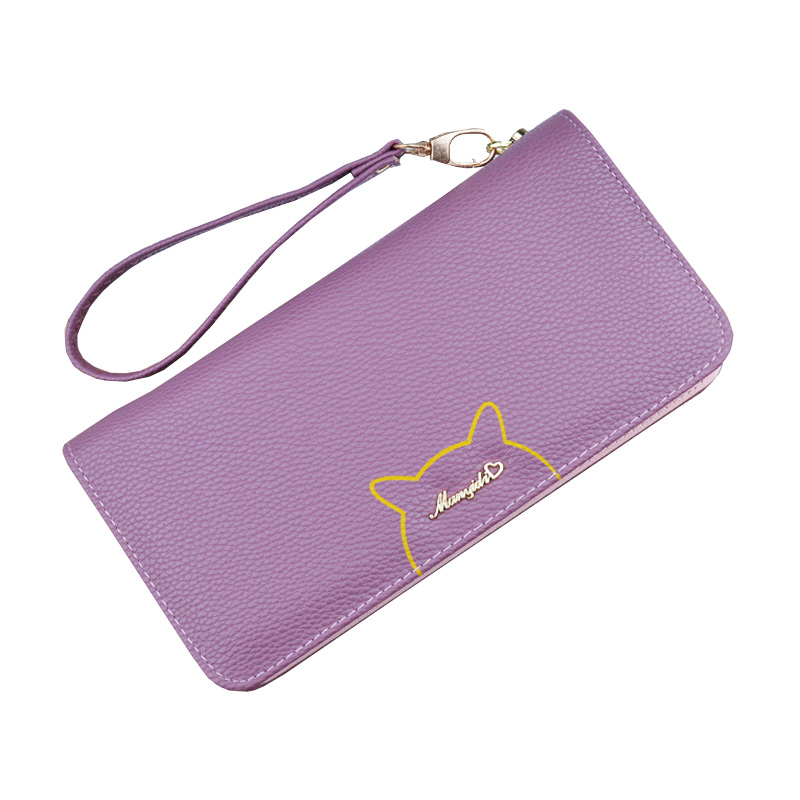 New Fashion Popular Large Capacity Cards Receiving WALLET With Zipper