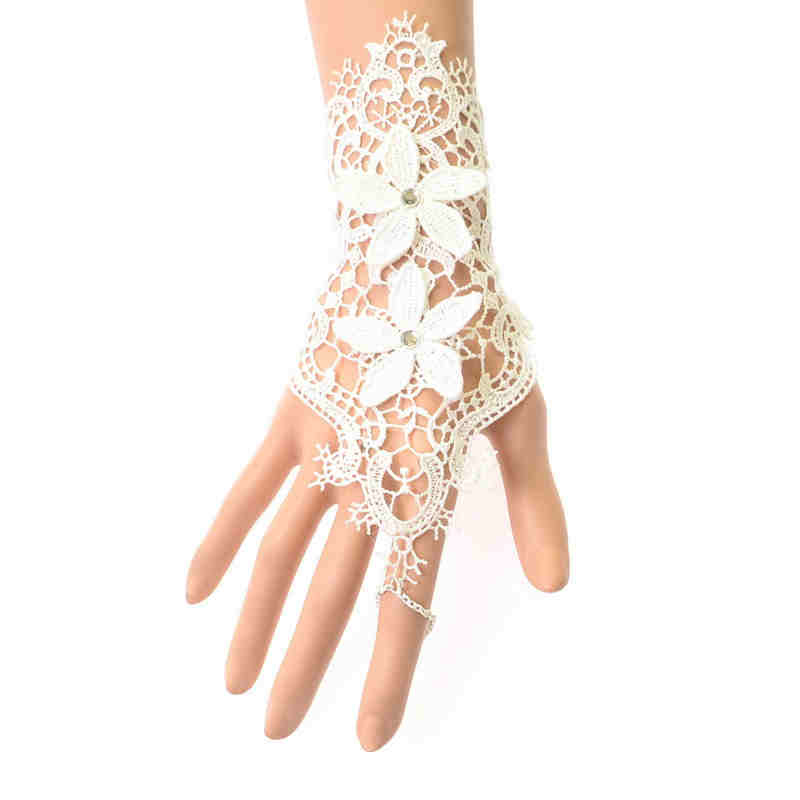 Wedding JEWELRY Luxury Lace Weave Sleeve Lotila Bracelet