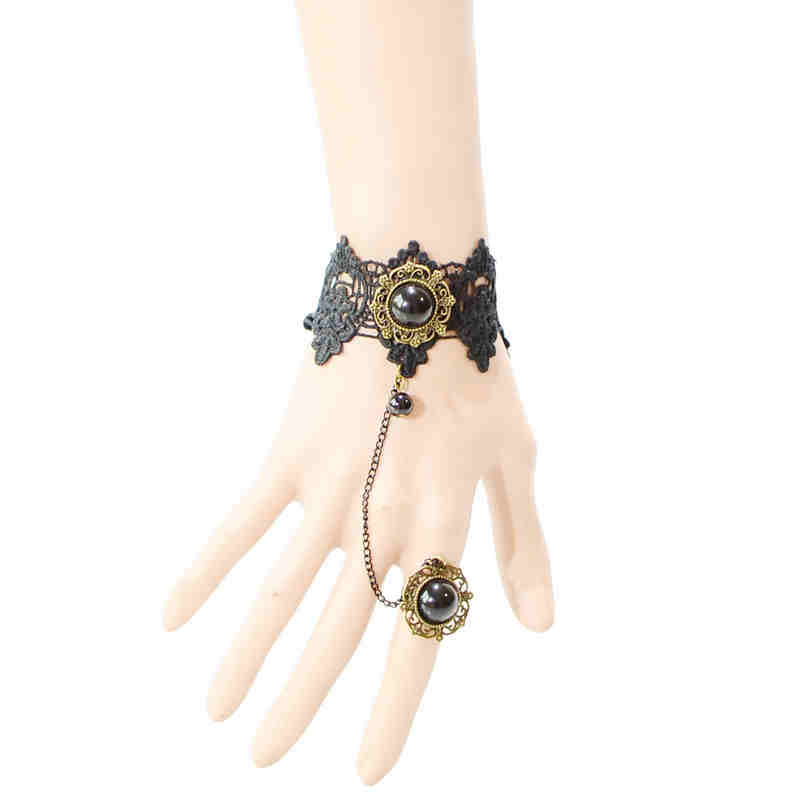 Luxury Princess Gothic Lolita Rose Bracelet JEWELRY