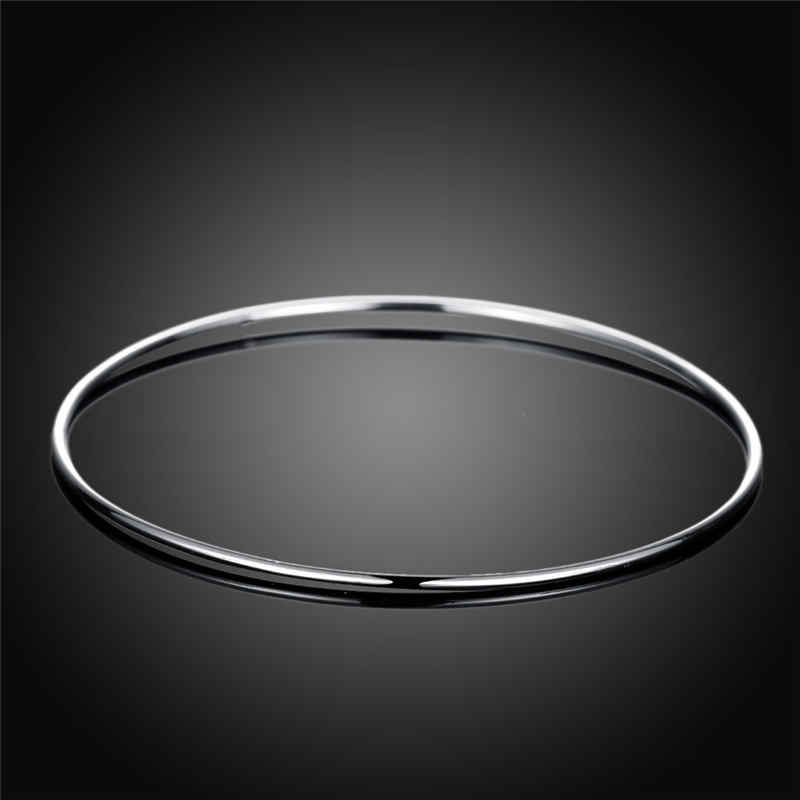 Men's JEWELRY Simple Popular Single Circle Copper Bangle