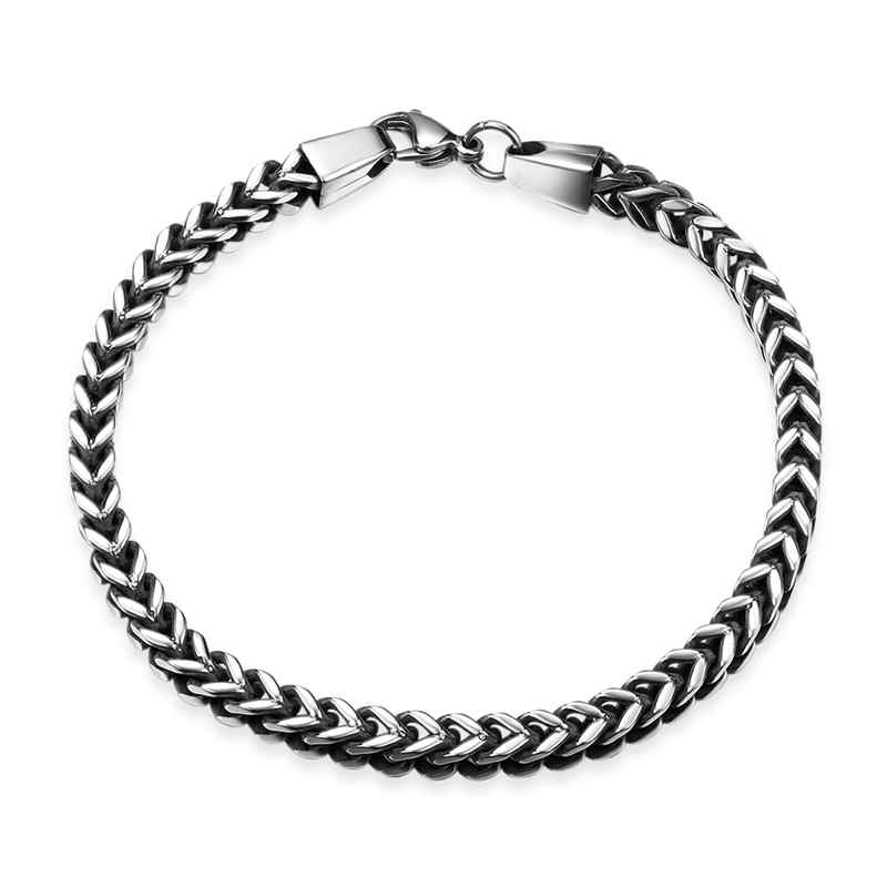 Men's JEWELRY Vintage Single Thick Chain Stainless Steel Bracelet