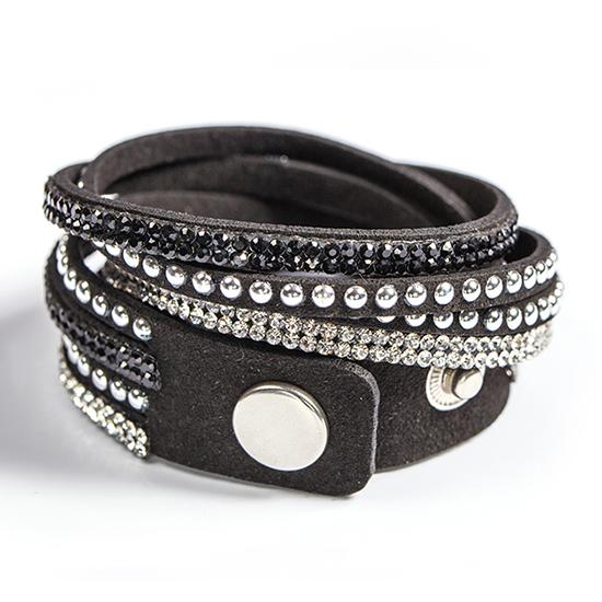 Fashion Bling Bling LEATHER Bracelets
