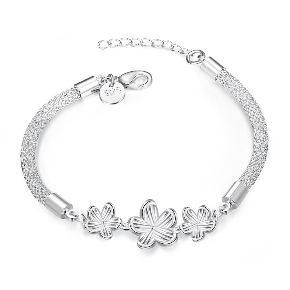 Silver Plated High Quality Plum Blossoms BRACELET