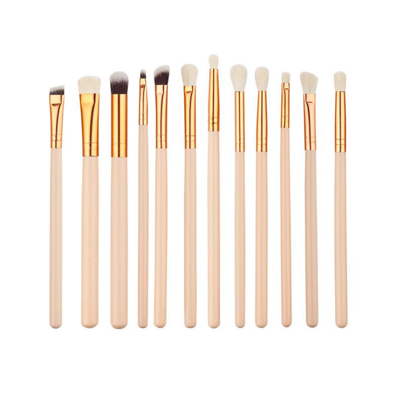 Fashion Style 12Pcs Nylon Make up Brush COSMETIC Tool