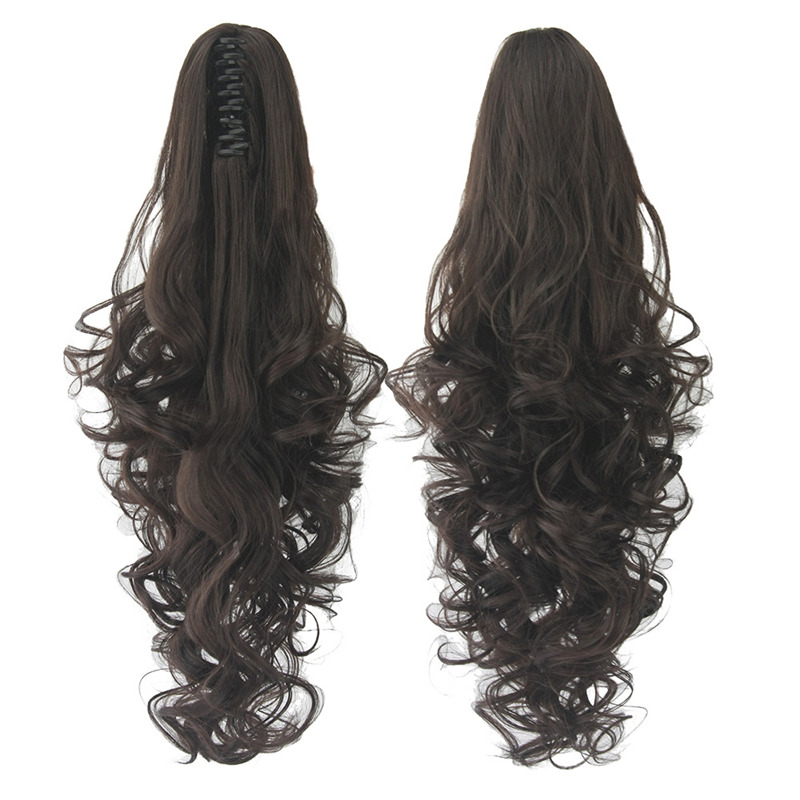NEW Fashion Natural Style Long Curly Bounce Soft Wigs For Women