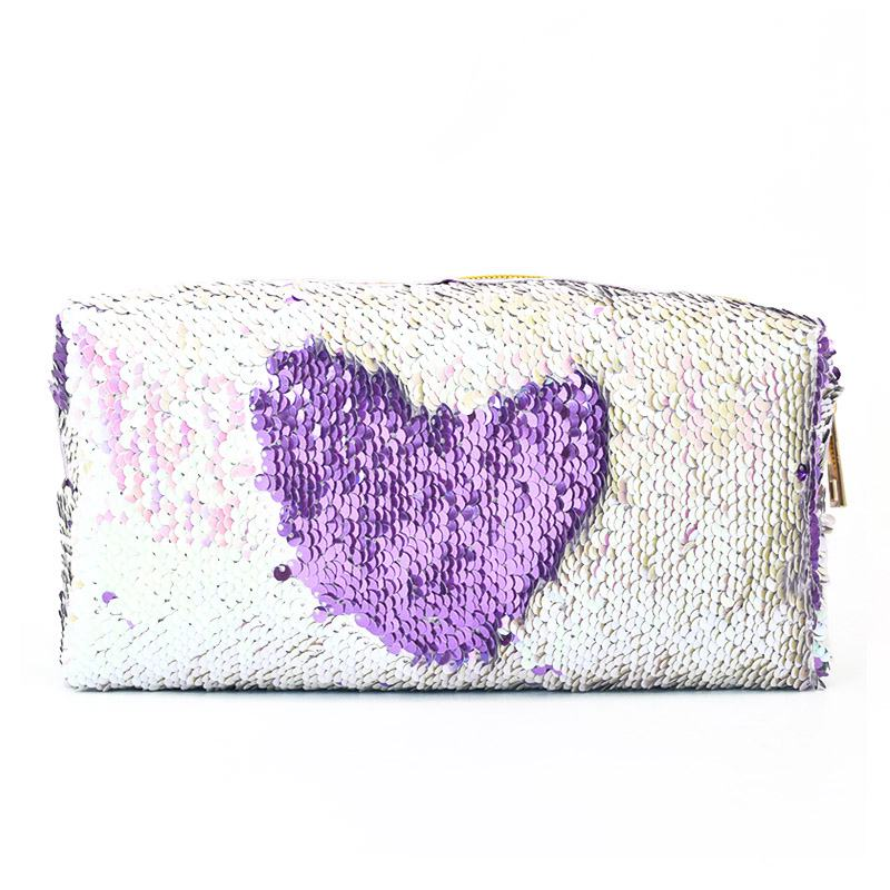 Woman Modern Fashion Glitter Paillette Cover Up HANDBAG Storage Bag Design Cosmetic Bags