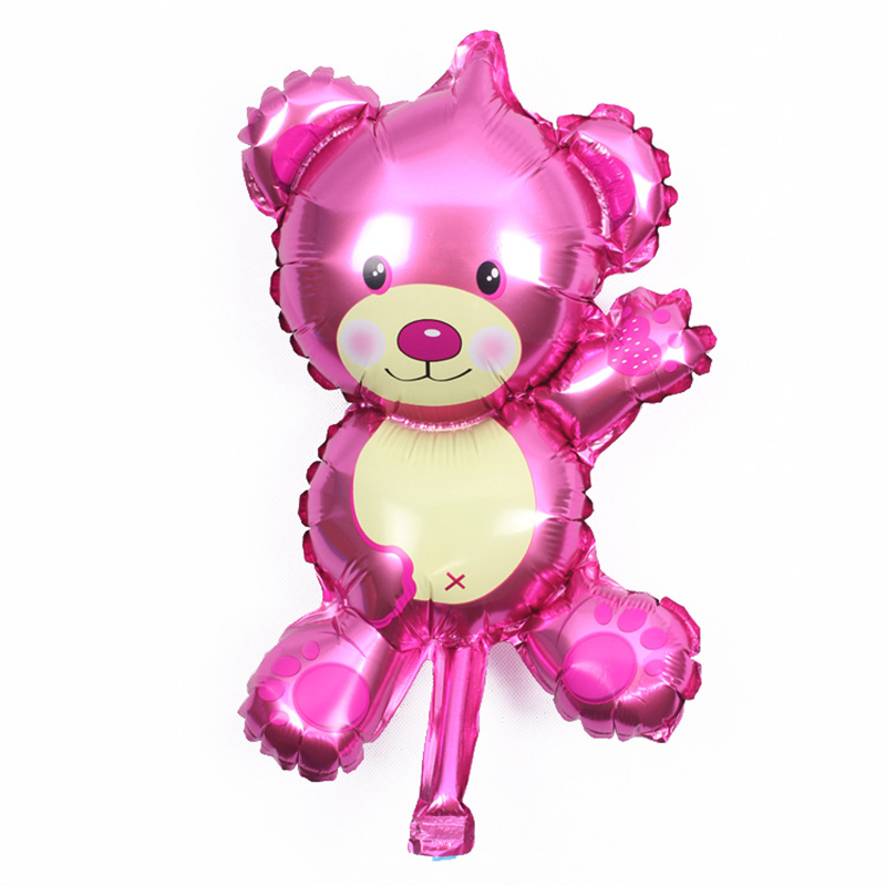 Wholesale Cartoon Mini Bear Shape Birthday Wedding Party Supply Foil BALLOON