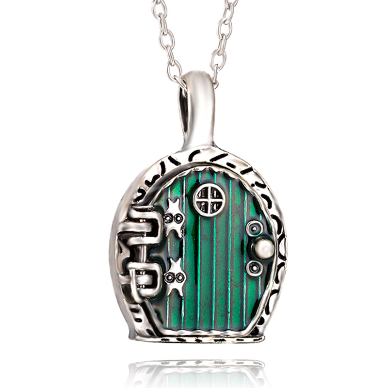 Fashion Style Movies Element  DOOR Of Bag End Necklace