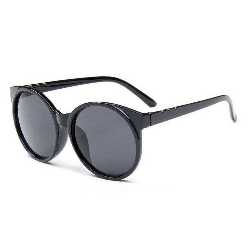 Women Vintage Style Round Big FRAME Trendy Sunglasses