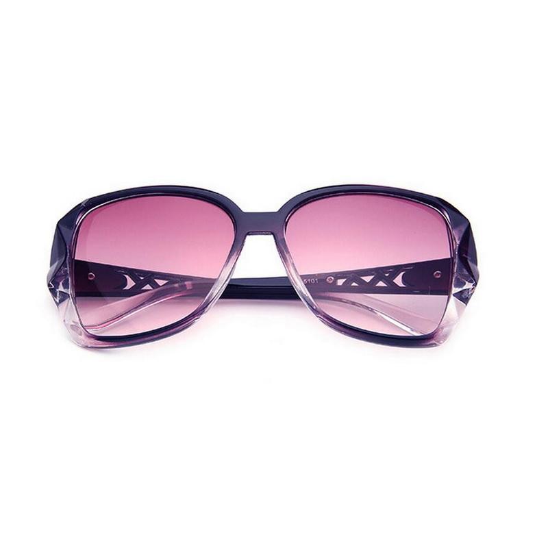 Women Retro Style Large PC FRAME Lady's Sunglasses