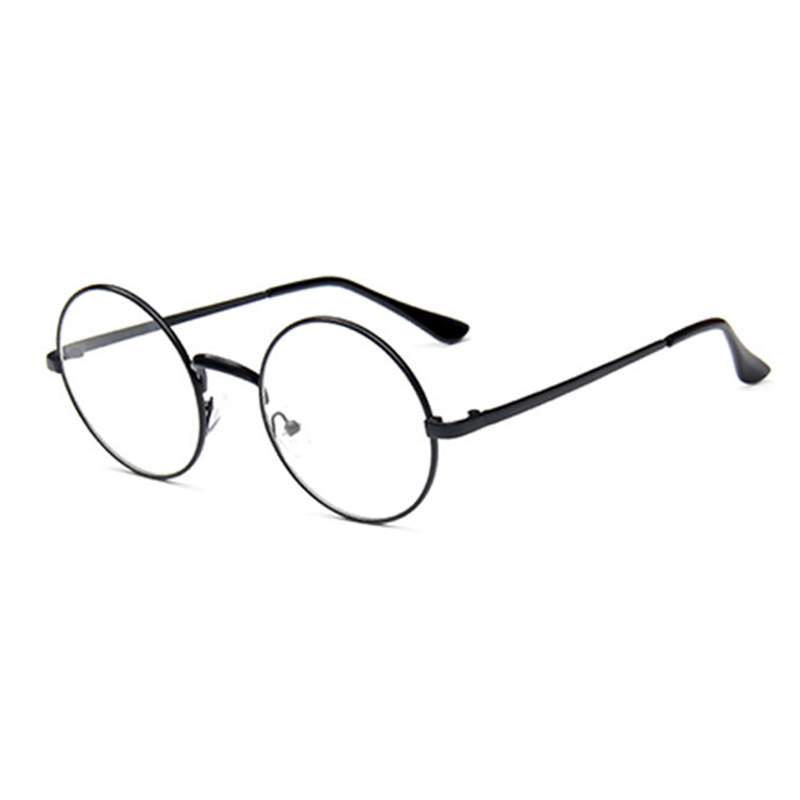 ad005a42ee Classic Round Thin Metal Frame Unisex All-Match GLASSES Eyewear Frame