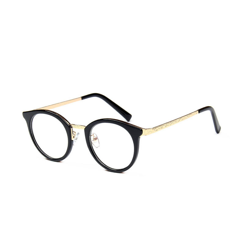 Retro Round Metal Frame Radiation Protection LADIES Glasses Eyewear Frame