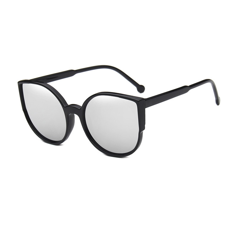 Trendy Style Big Frame Simple Design Cat Eye Unisex SUNGLASSES