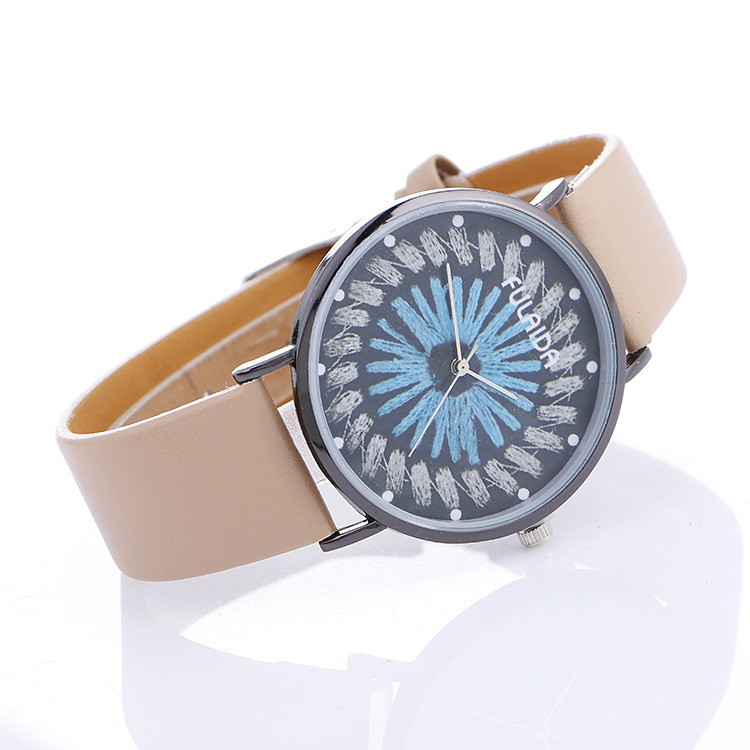 Classic Unisex Style Good Quality  PU Band Leisure WATCH