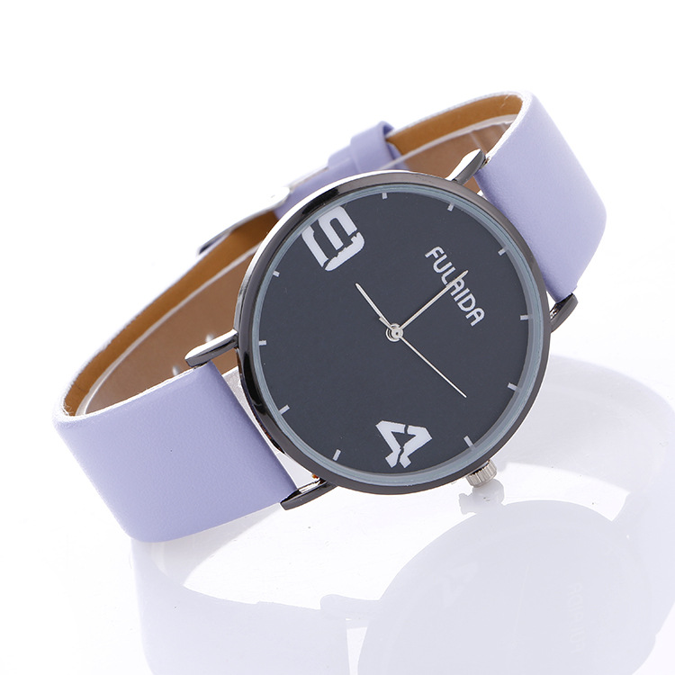 Simple Design Unisex PU Band Leisure WATCH