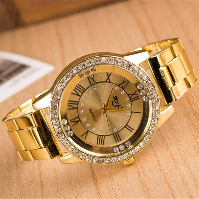 MEN&WoMEN Unisex Plated Metal Band Classic Business WATCH