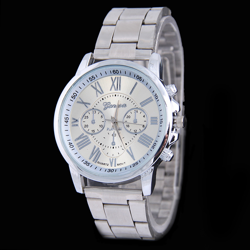 Unisex Style Classic Trendy Metal Business WATCH