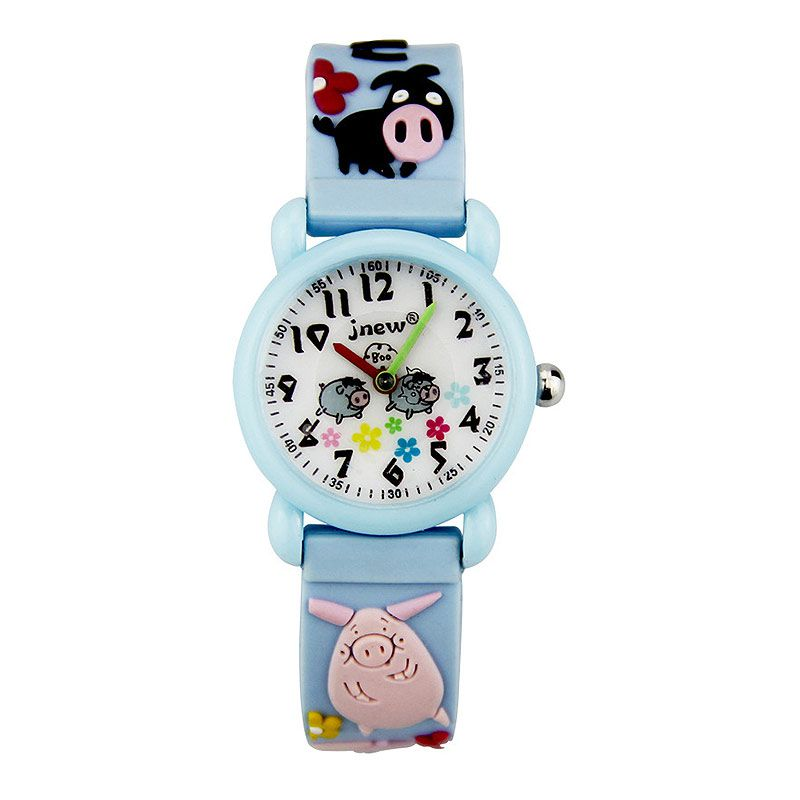 Wholesale Good Quality Waterproof Cartoon Design Silicone Band WATCH