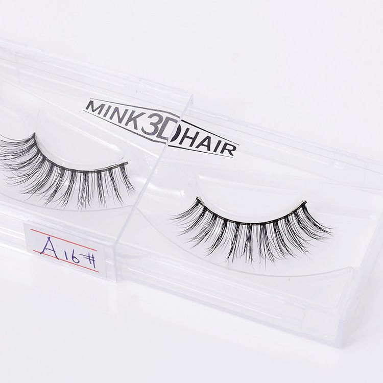 New Arrival Women Fashion Nude Makeup TOOLS Mink Hair Eyelashes