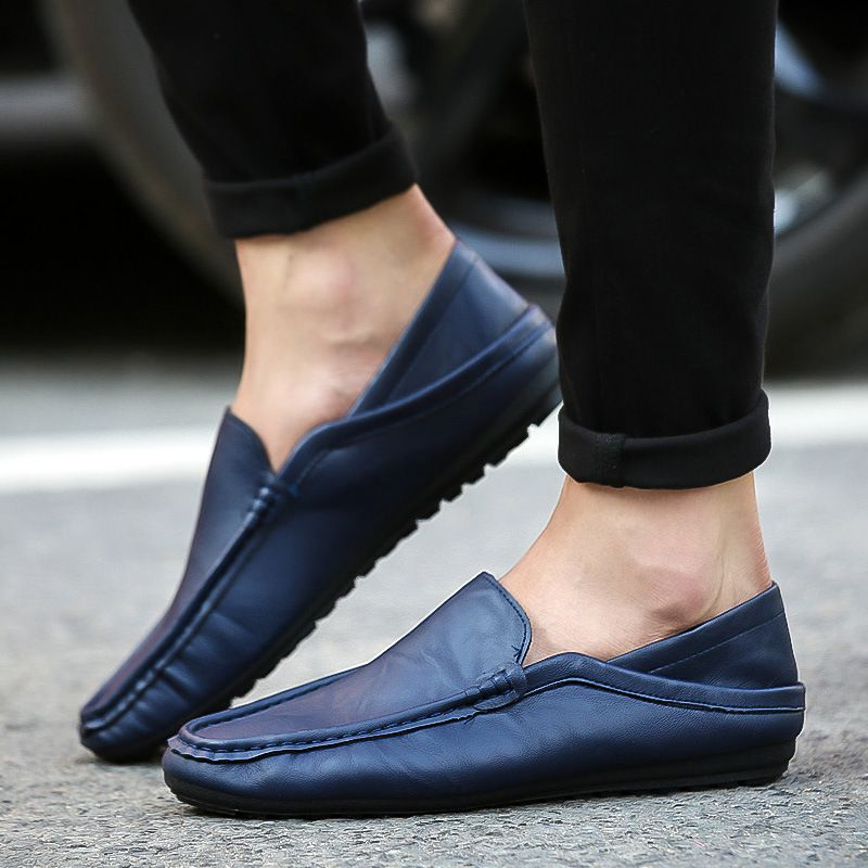 Men Round-toe Breathable Casual Loafers SHOES