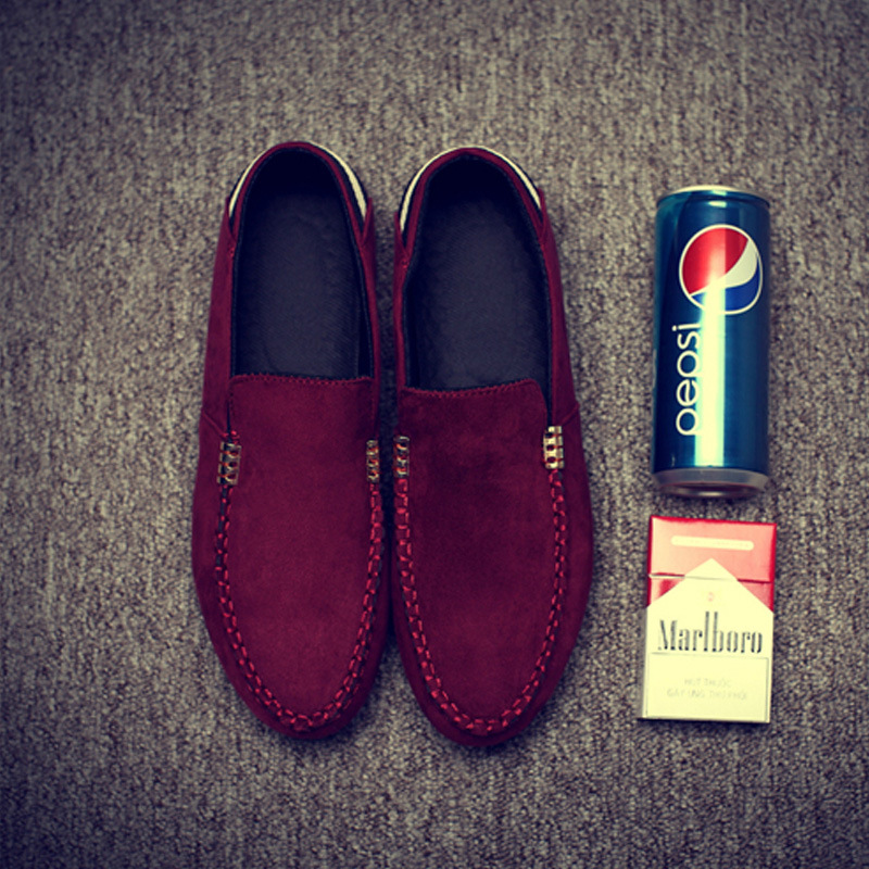 Simple Fashion Men Breathable Slip On Loafers SHOES