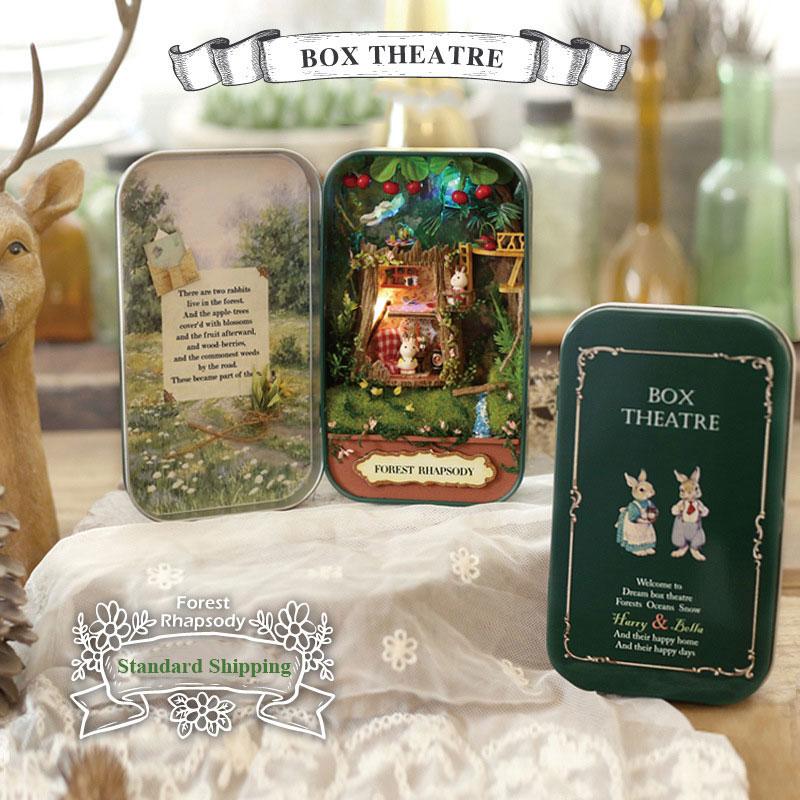 DIY Handmade Wooden Dollhouse TOYS Assemble Kits Gift TOYS