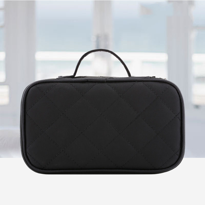 Woman Fashion Double Layer Large Capacity COSMETIC Bag