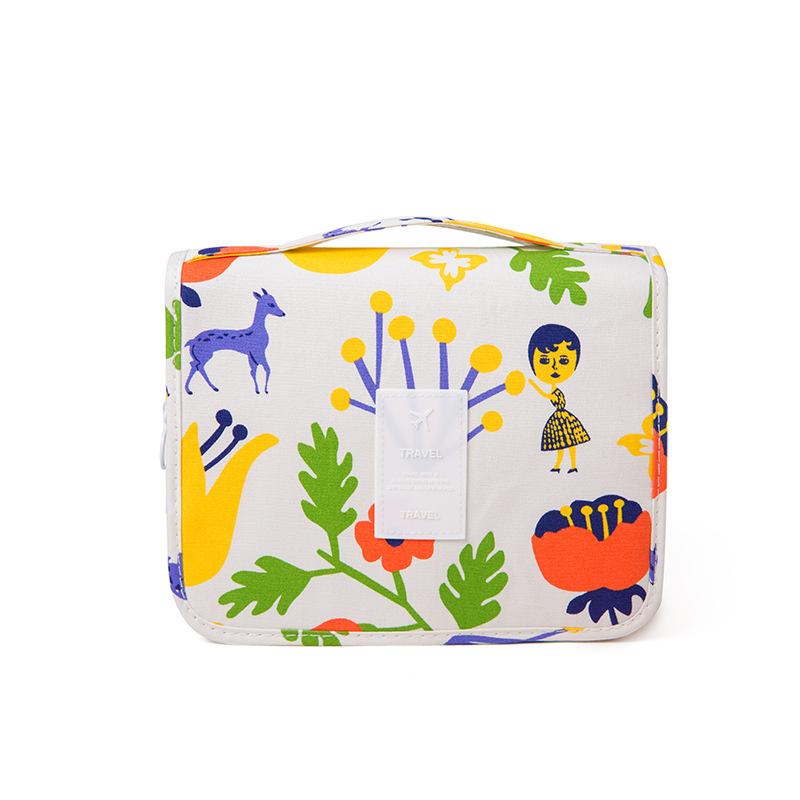 Women Fashion Cartoons Printing Large Capacity COSMETIC Bags