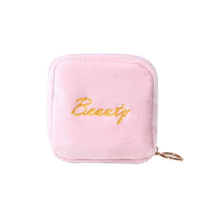 Women Fashion Portable Plush COSMETIC Bags