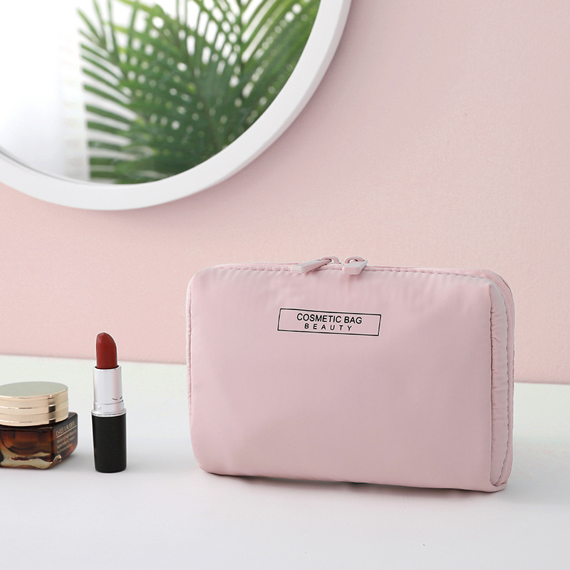 Women Fashion Solid Color Waterproof COSMETIC Bags