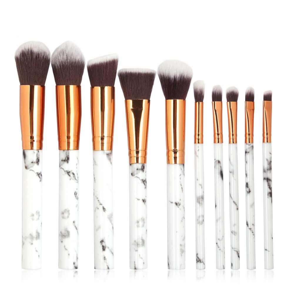 10pcs Professional Face Make Up Brush COSMETICS Beauty Tools