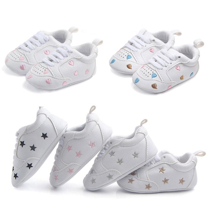 Baby Simple Printed Soft-soled Prewalker SHOES