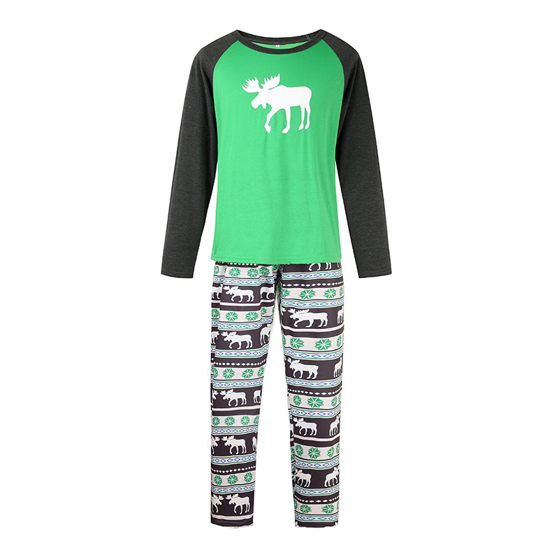 Christmas Fashion Reindeer Print Family Matching PAJAMAS Set